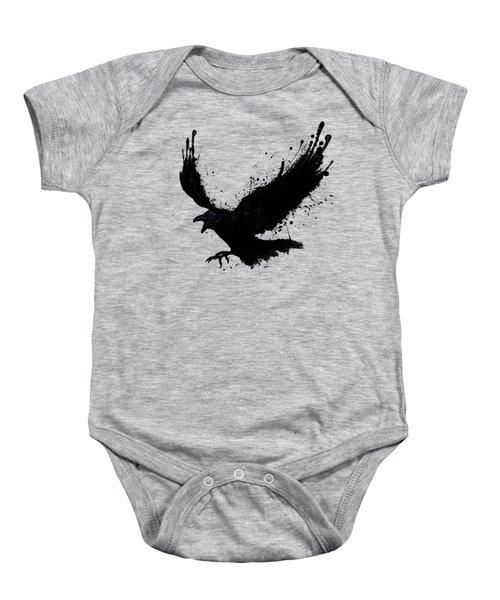 Raven Baby Onesie by Nicklas Gustafsson