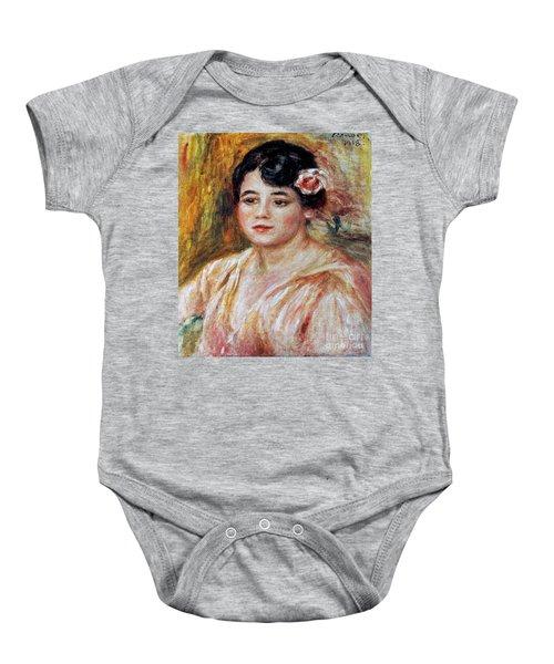 Renoir: Adele Besson, 1918 Baby Onesie by Granger