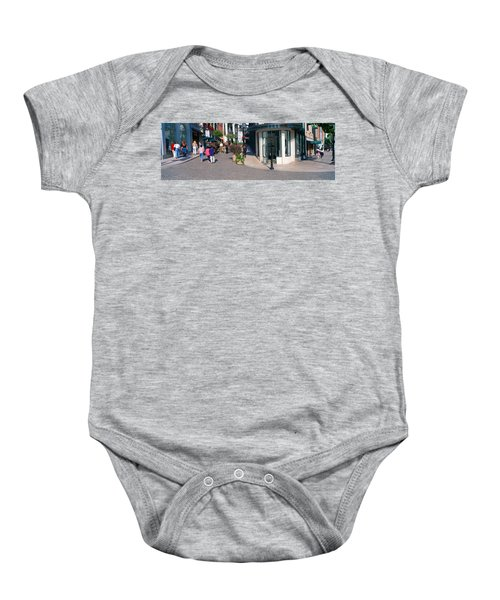 Rodeo Drive, Beverly Hills, California Baby Onesie by Panoramic Images