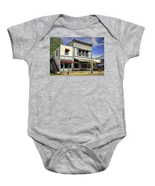 Samuel Hackmann Building Baby Onesie by Cricket Hackmann