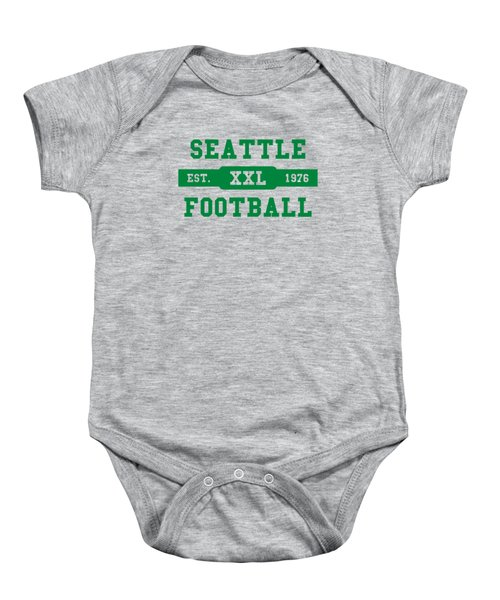 Seahawks Retro Shirt Baby Onesie by Joe Hamilton