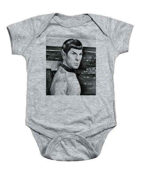 Spock Baby Onesie by Olga Shvartsur