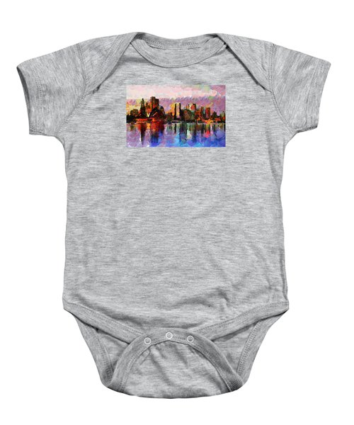 Sydney Here I Come Baby Onesie by Sir Josef - Social Critic - ART
