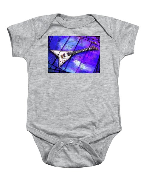 The Concorde On Blue Baby Onesie by Gary Bodnar