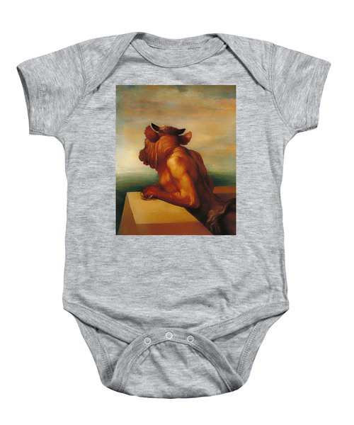 The Minotaur  Baby Onesie by Mountain Dreams
