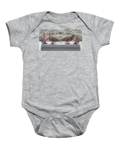 Together For Life Baby Onesie by Betsy Knapp