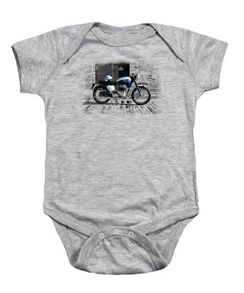 Triumph Bonneville T120 Baby Onesie by Mark Rogan