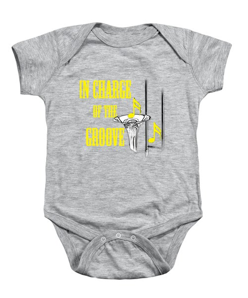 Trombones In Charge Of The Groove 5534.02 Baby Onesie by M K  Miller