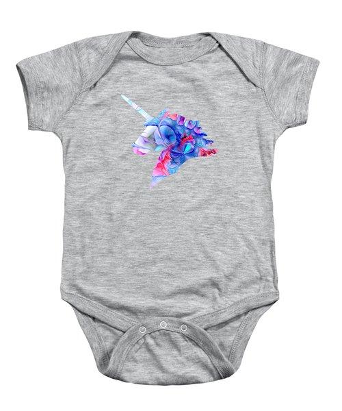 Unicorn Dream Baby Onesie by Anastasiya Malakhova