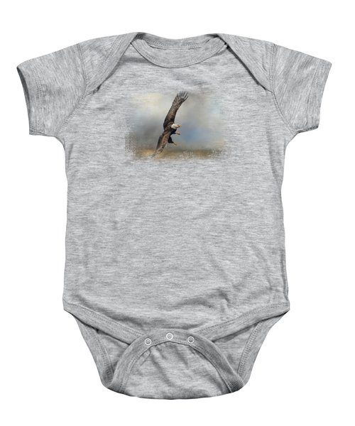 Up Against The Storm Baby Onesie by Jai Johnson
