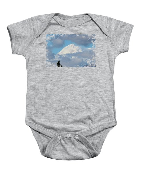Up In The Clouds Baby Onesie by Di Designs