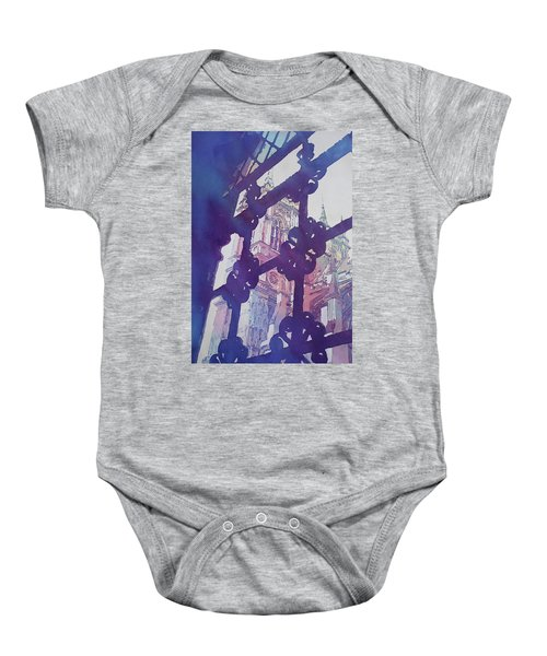 View From The Cloister Baby Onesie by Jenny Armitage