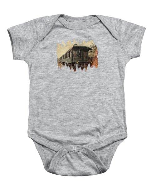 Virginia City Pullman Baby Onesie by Thom Zehrfeld