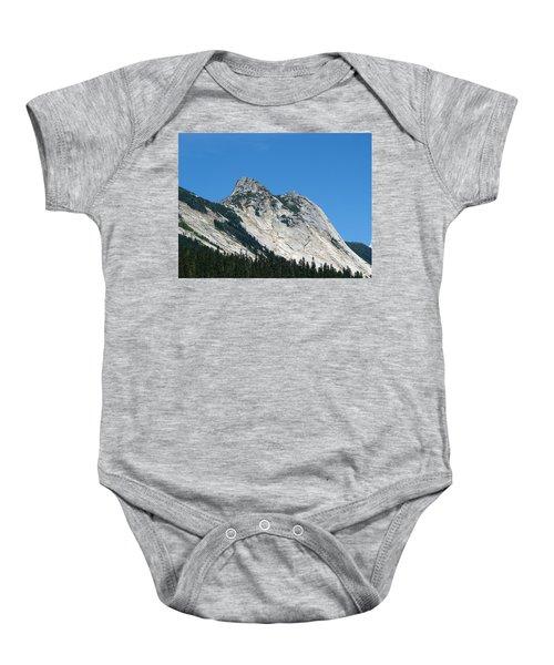 Yak Peak Baby Onesie by Will Borden