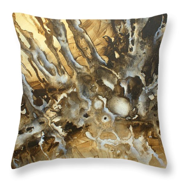 ' Concept' Throw Pillow by Michael Lang