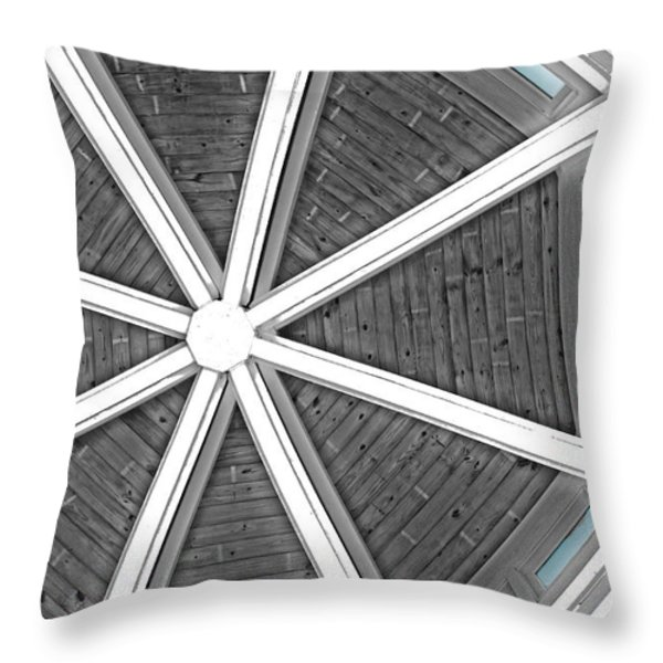 Different Point of View Throw Pillow by Tom Gari Gallery-Three-Photography