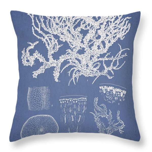 Eucheuma Spinosum Throw Pillow by Aged Pixel