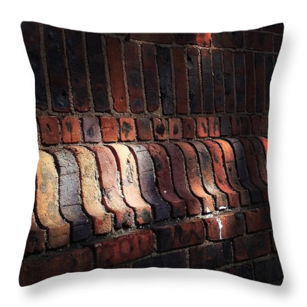 Light Shadow Texture Throw Pillow by Natasha Marco