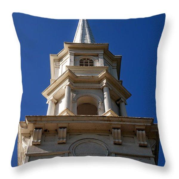 Martha-mary Chapel  Throw Pillow by Edward Fielding