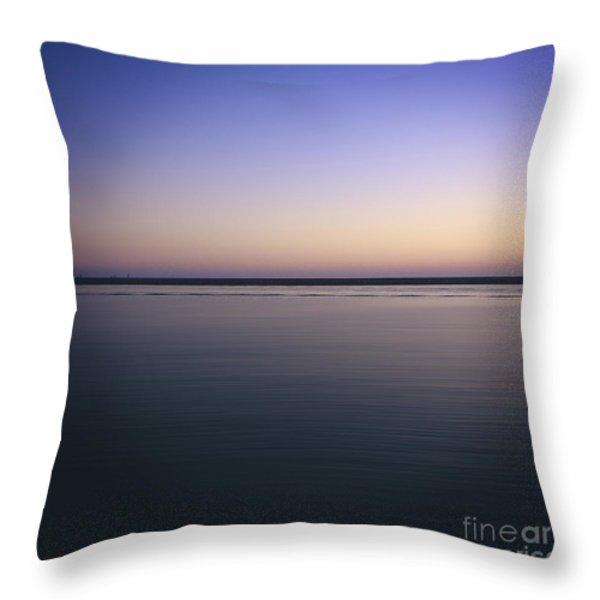 Mediterranean sea. Provence. France Throw Pillow by BERNARD JAUBERT