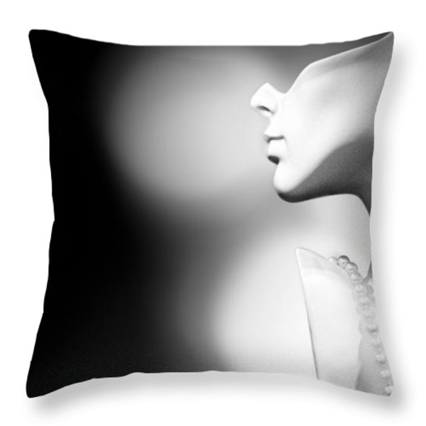 Nod and A Whisper Throw Pillow by Bob Orsillo