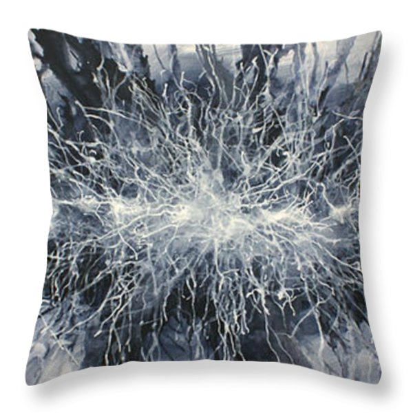 ' Visions Of One' Throw Pillow by Michael Lang