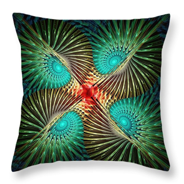 Visual Perception Throw Pillow by Anastasiya Malakhova