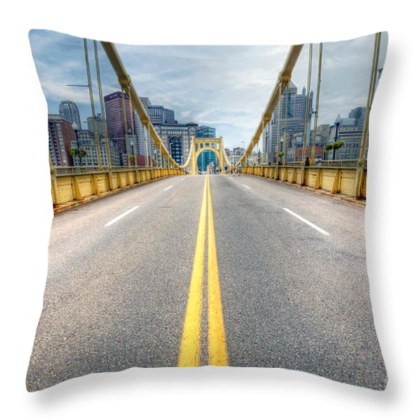 0306 Pittsburgh 9 Throw Pillow by Steve Sturgill
