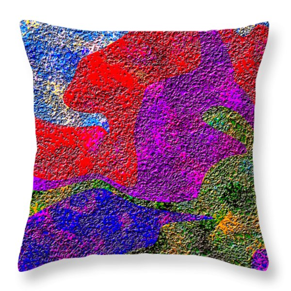 0732 Abstract Thought Throw Pillow by Chowdary V Arikatla