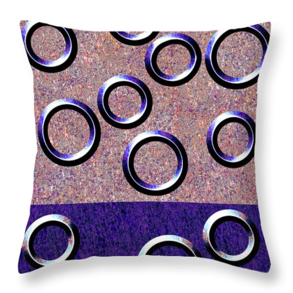 0235 Abstract Thought Throw Pillow by Chowdary V Arikatla