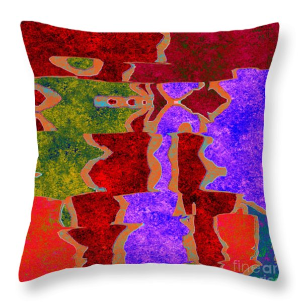0322 Abstract Thought Throw Pillow by Chowdary V Arikatla