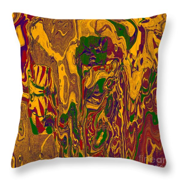 0478 Abstract Thought Throw Pillow by Chowdary V Arikatla