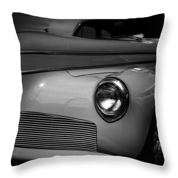 1941 Studebaker Commander Throw Pillow by David Patterson