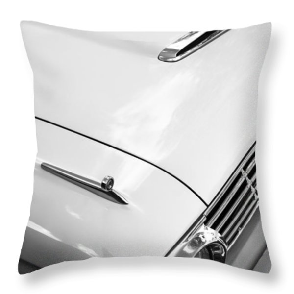 1963 Ford Falcon Futura Convertible Hood Throw Pillow by Jill Reger