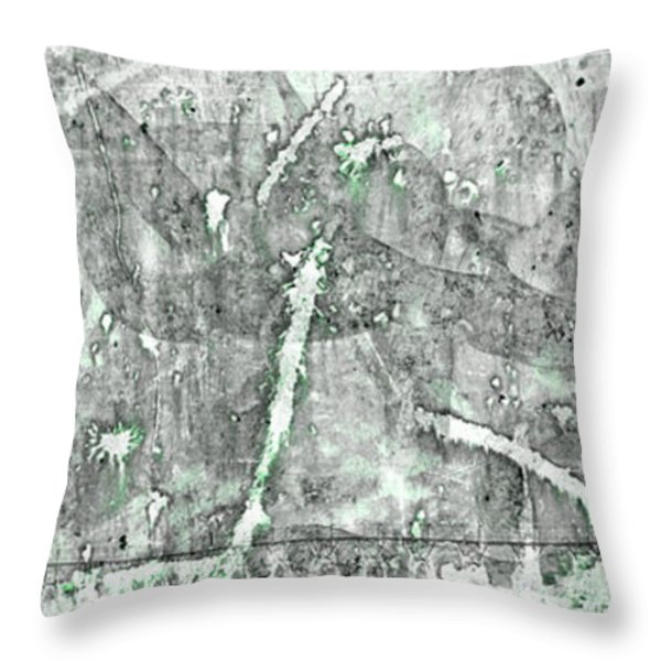 Abstract Lighthouses Throw Pillow by John Stephens