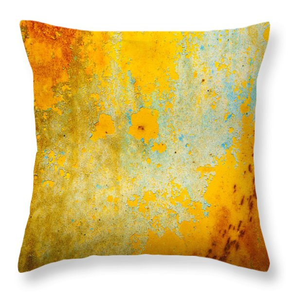 Abstract Throw Pillow by Mark Weaver