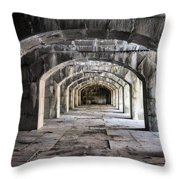 Arches  Throw Pillow by JC Findley