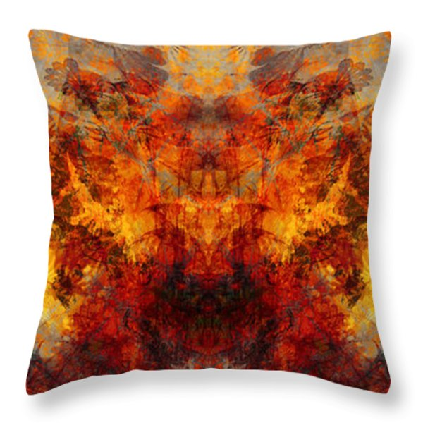 Autumn Glory Throw Pillow by Christopher Gaston