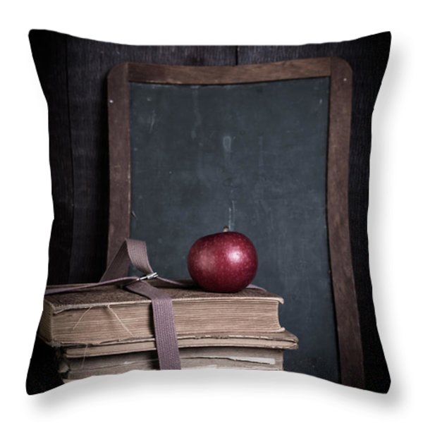 Back to School Throw Pillow by Edward Fielding