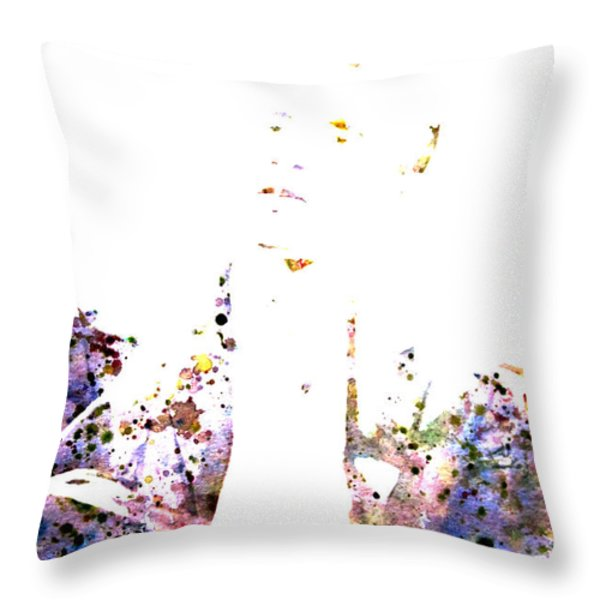 Barack Obama Throw Pillow by BRIAN REAVES