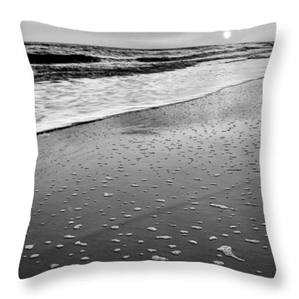 Bubbles Throw Pillow by JC Findley