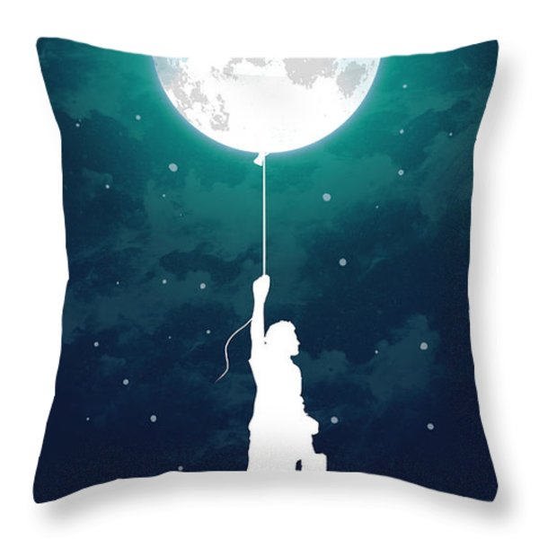 Burn the midnight oil Throw Pillow by Budi Satria Kwan