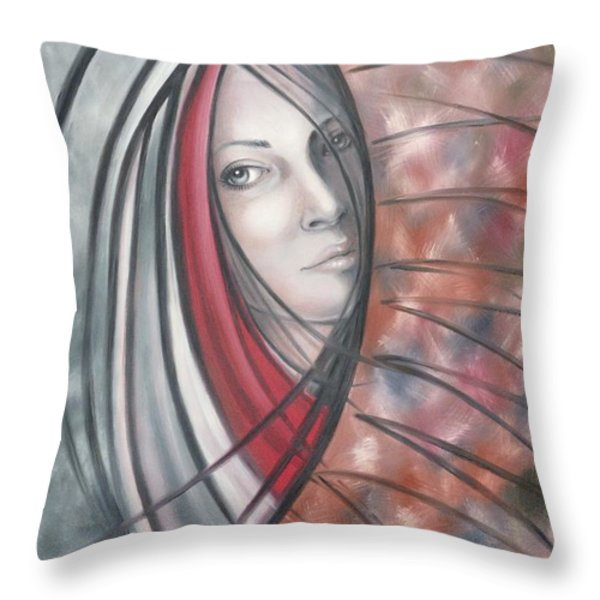 Catch Me If You Can 080908 Throw Pillow by Selena Boron