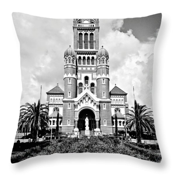 Cathedral Of Saint John The Evangelist Throw Pillow by Scott Pellegrin
