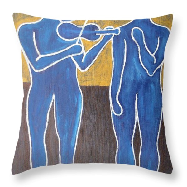 Celtic Music Throw Pillow by Patrick J Murphy