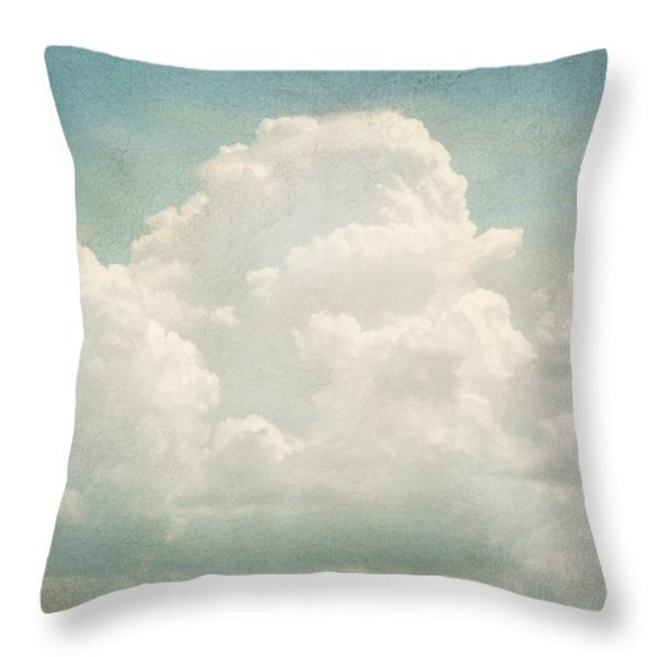 Cloud Series 3 Of 6 Throw Pillow by Brett Pfister