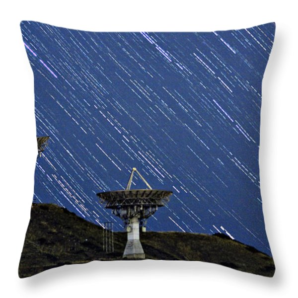 Communications to the Stars Throw Pillow by James BO  Insogna