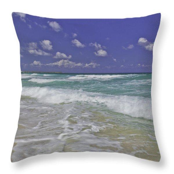 Cozumel Paradise Throw Pillow by Chad Dutson