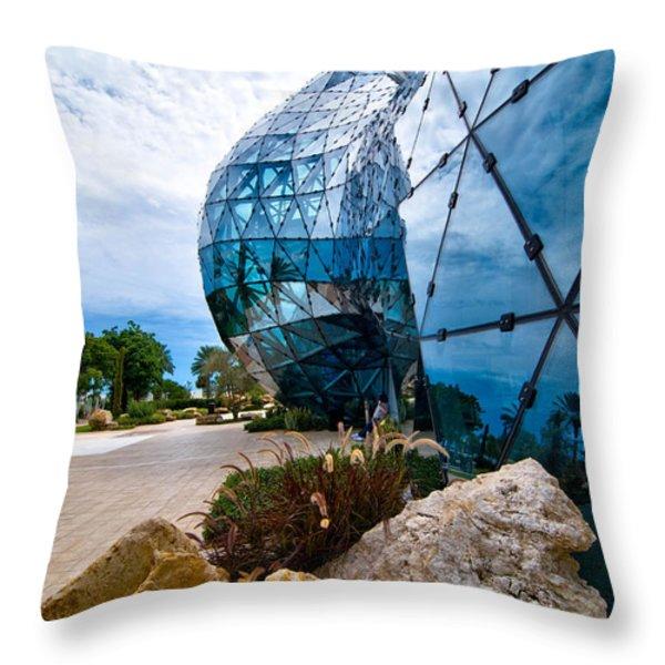 Dali Museum Saint Petersburg Florida Throw Pillow by Amy Cicconi