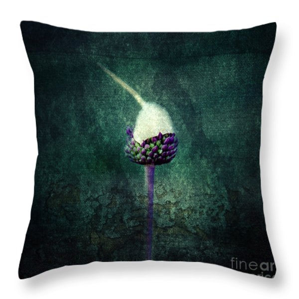 Delicate Throw Pillow by Stylianos Kleanthous